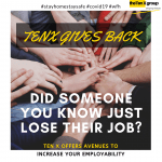 Ten X Gives Back!